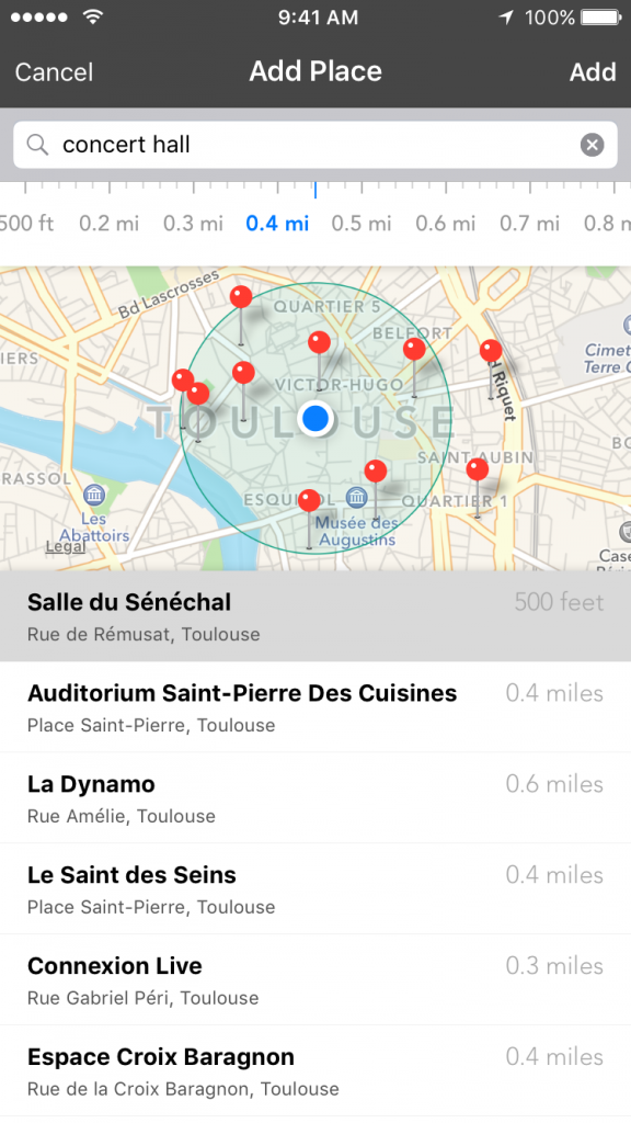 Track your current and future favorite spots with Placeboard