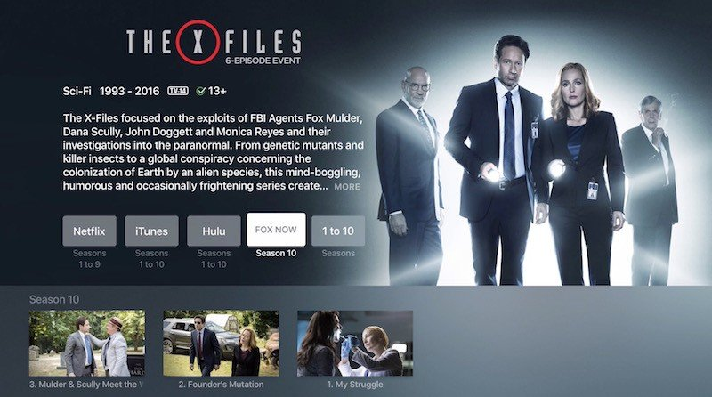Apple TV X-Files