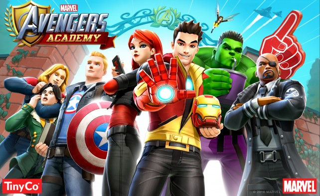 Superheroes get schooled in Marvel Avengers Academy
