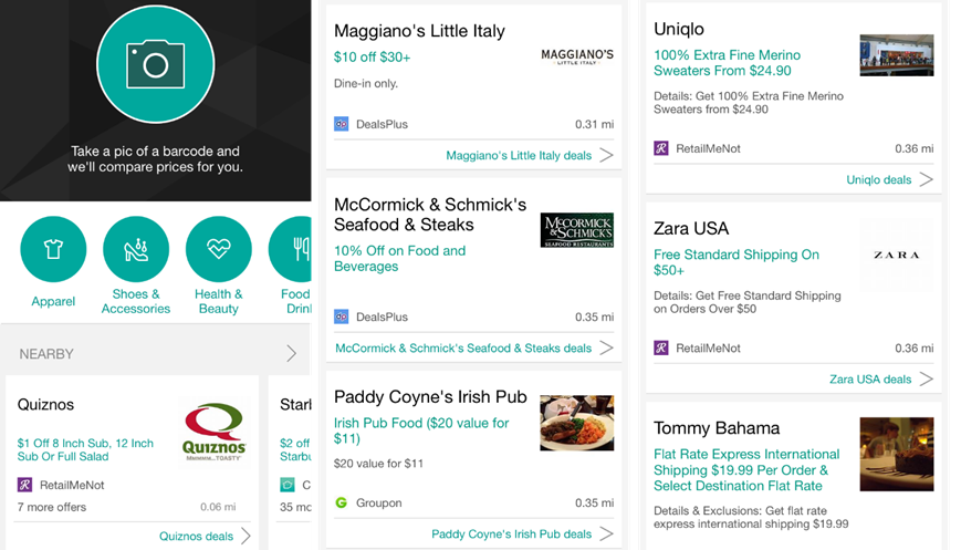 Microsoft Updates Bing For Iphone To Help You Shop Faster