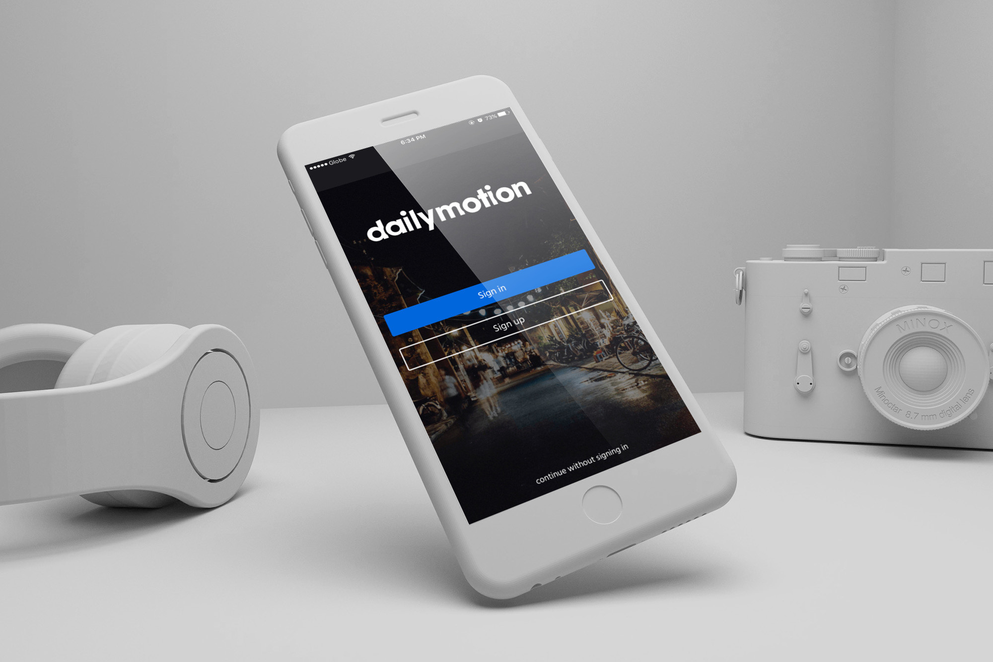 Start shooting and sharing your videos right from Dailymotion for iOS