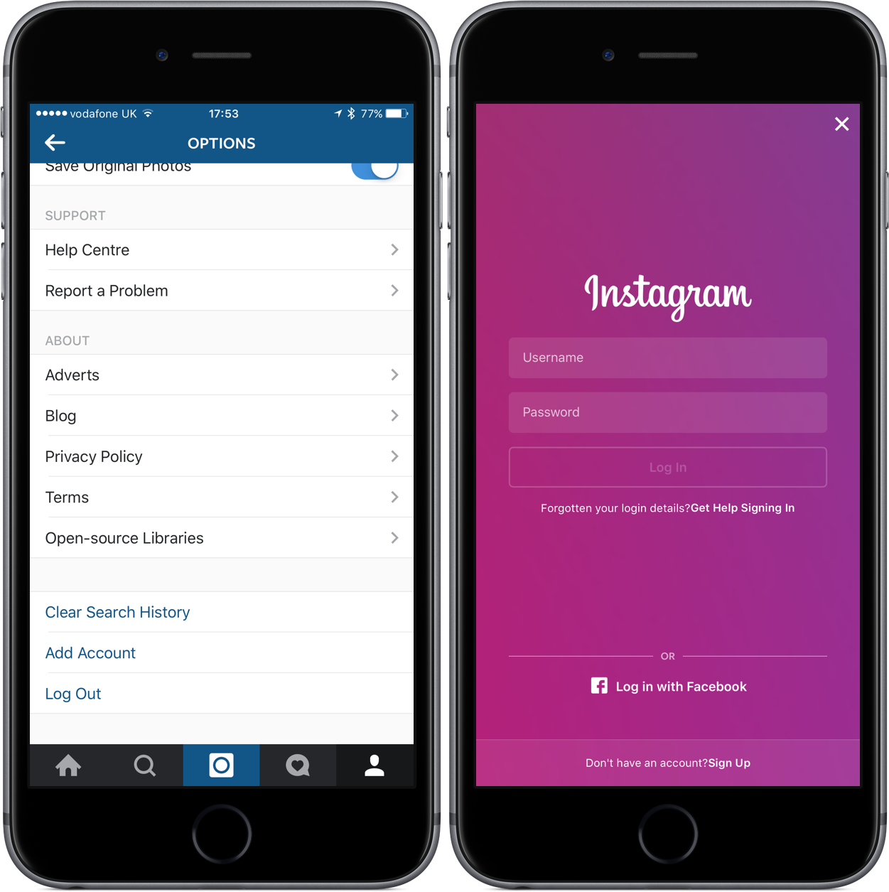 How to add multiple instagram accounts on your iphone adding additional accounts into instagram is quick and easy ccuart Image collections