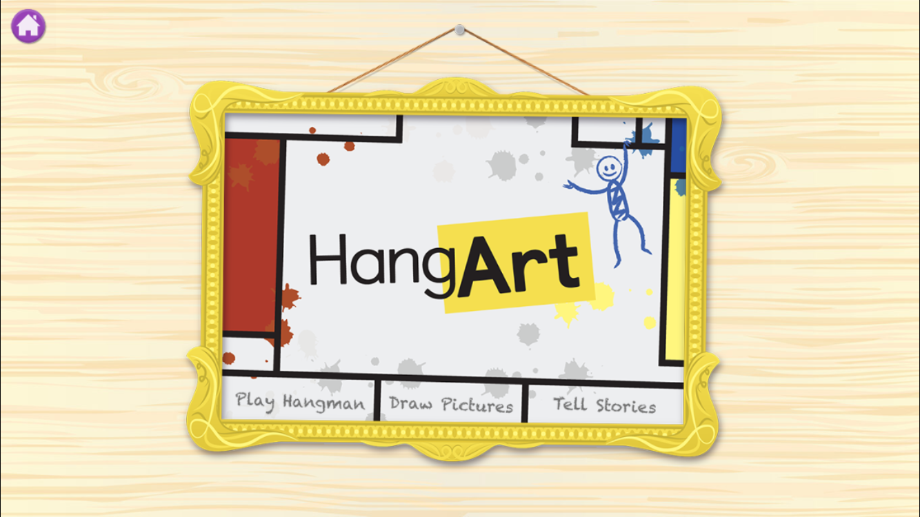 Play Hangman, tell stories and more with HangArt