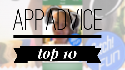 AppAdvice's Top 10 best apps once a week 10 at a time