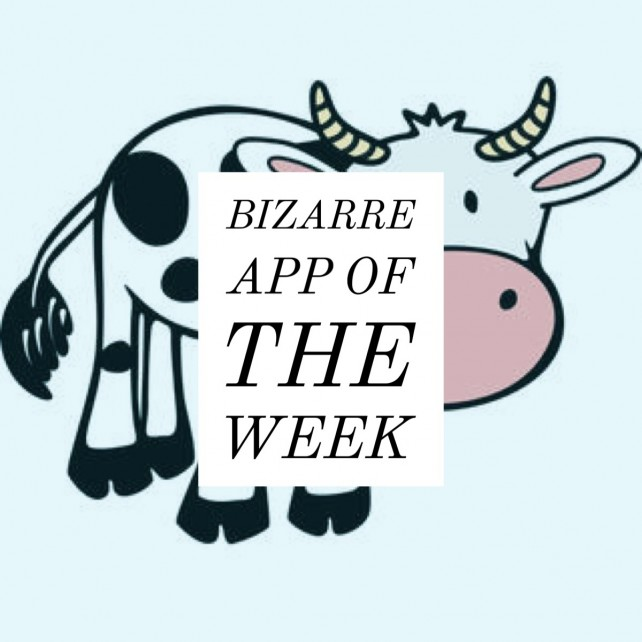 Bizarre App of the Week: Find the Invisible Cow