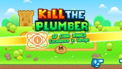 Kill the Plumber in this Super Mario parody anti-platformer