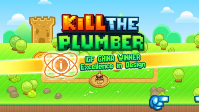 Kill the Plumber in this Super Mario parody anti-platformer