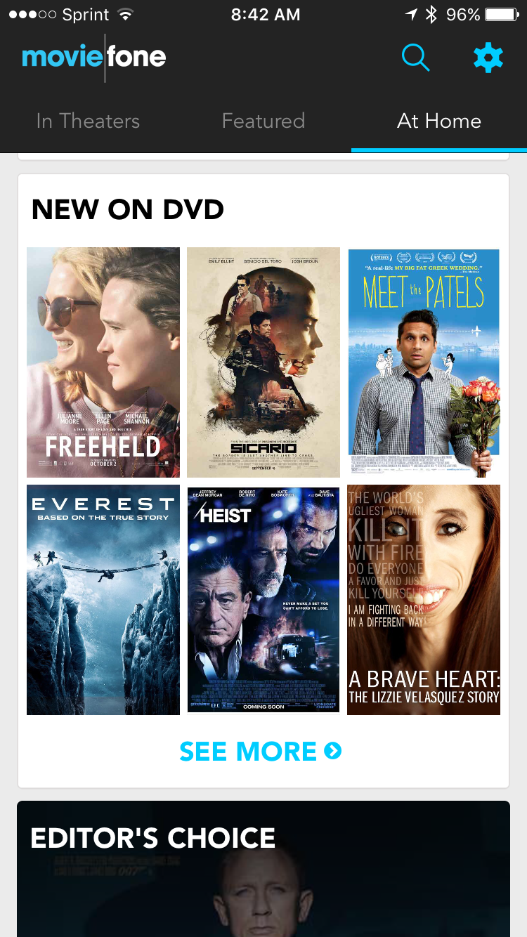 Get DVD and streaming details with Movies by Moviefone