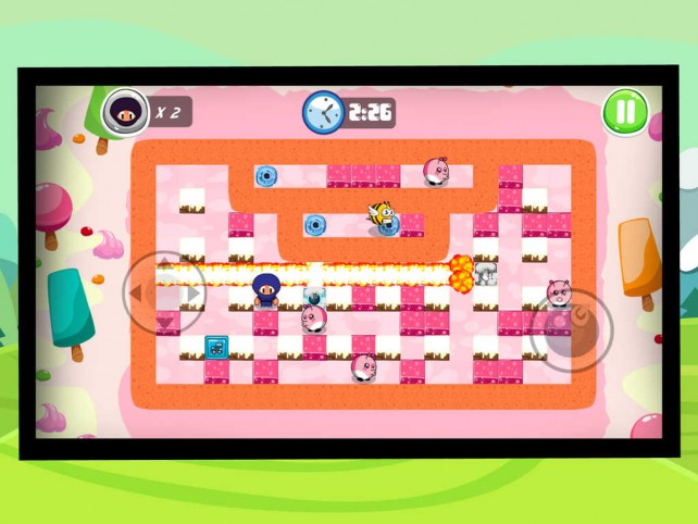 Want to play Bomberman on iOS and Apple TV? Ninja Boy Adventures is your best bet