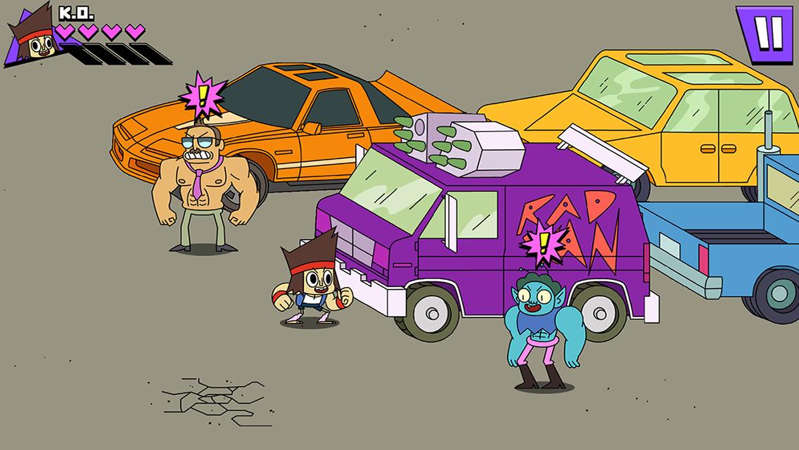 OK K.O.! Lakewood Plaza Turbo characters