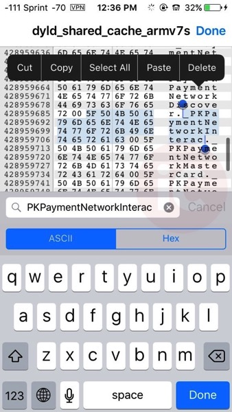 PaymentNetworkInterac Apple Pay Canada