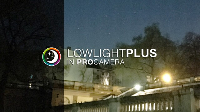 You'll no longer be in the dark with ProCamera's new low-light photography mode