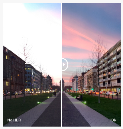 ProCamera No HDR vs HDR
