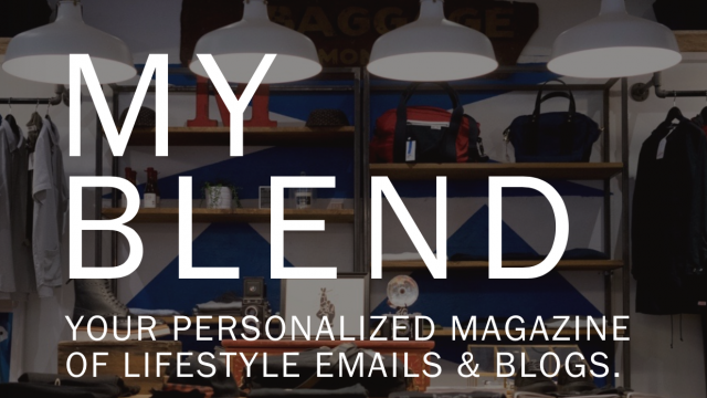 My Blend turns your email newsletters into beautiful, curated magazine content