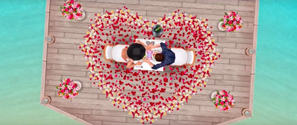 Love is in the air: The Sims FreePlay gets Valentine's Day update