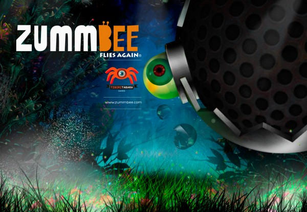 Shoot your way through the sky in search of honey in Zummbee