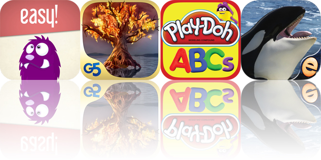 Today's apps gone free: Easy!, Spirit Walkers, PLAY-DOH Create ABCs and more