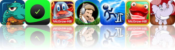 Today's apps gone free: Memory Quest, Work.JOT, Word Wonderland and more