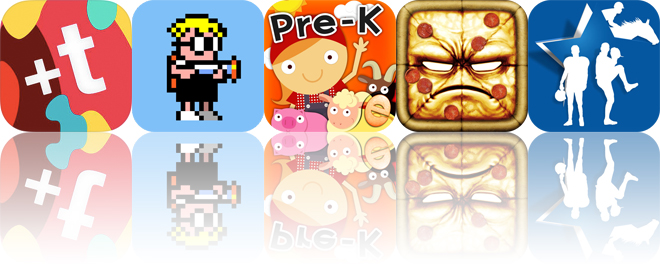 Today's apps gone free: Fontmania, Mutant Mudds, Animal Pre-K Math and more