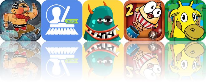 Today's apps gone free: Kung Fu Taxi 2, CleanUp Suite, A to Z Monsters and more