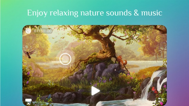 Get Away and unwind to peaceful nature sounds