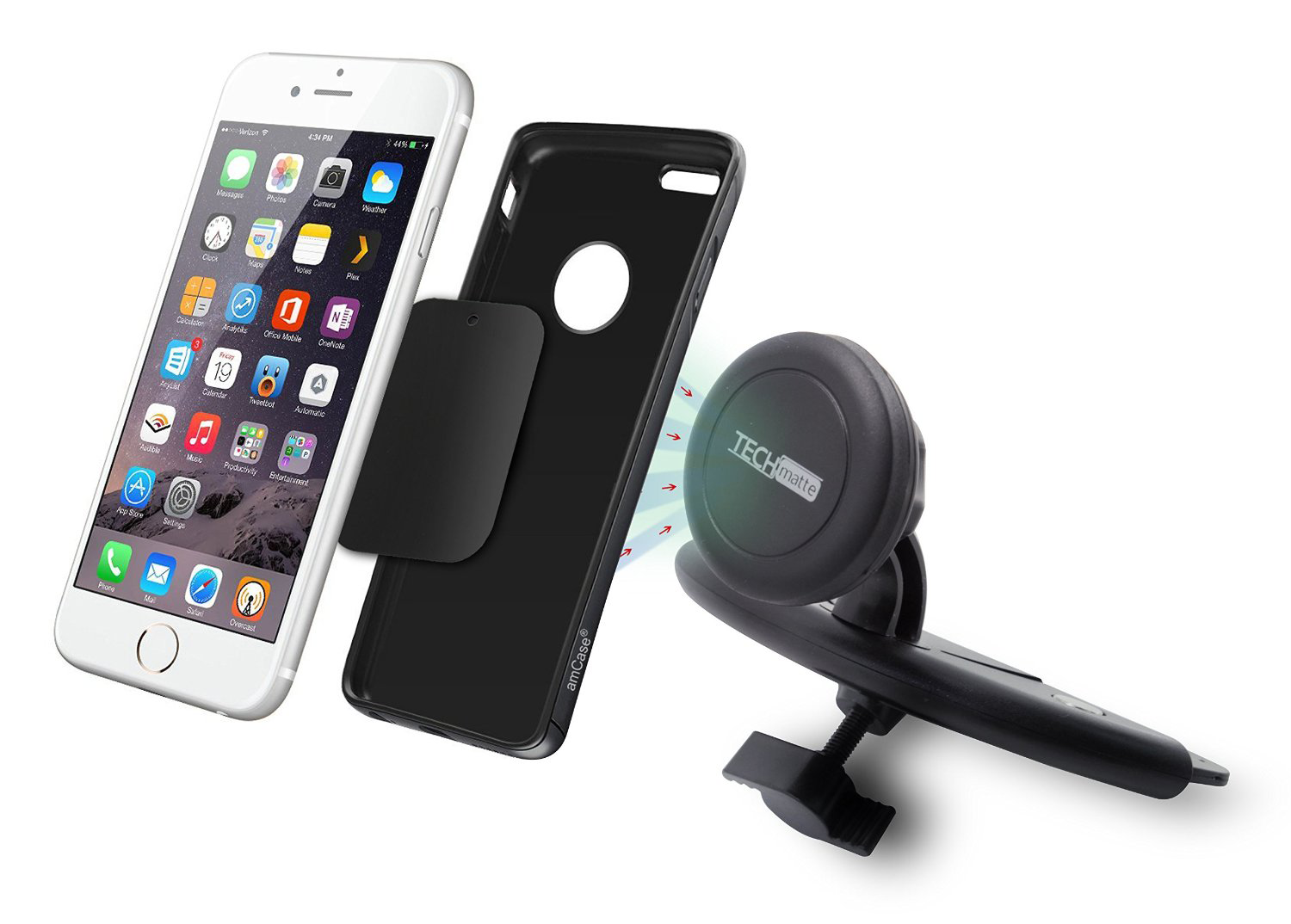 7 great car mounts for your iphone 6s 6 or iphone 6s 6 plus. Black Bedroom Furniture Sets. Home Design Ideas