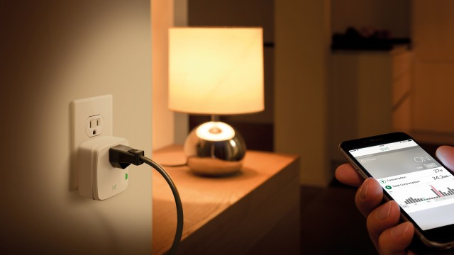 Elgato's Eve Energy Switch and Power Meter is a HomeKit-enabled smart plug