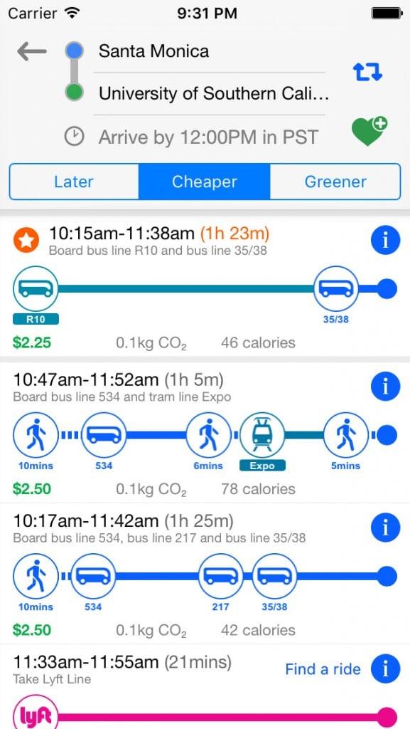 Make your way around Los Angeles with the Go LA app