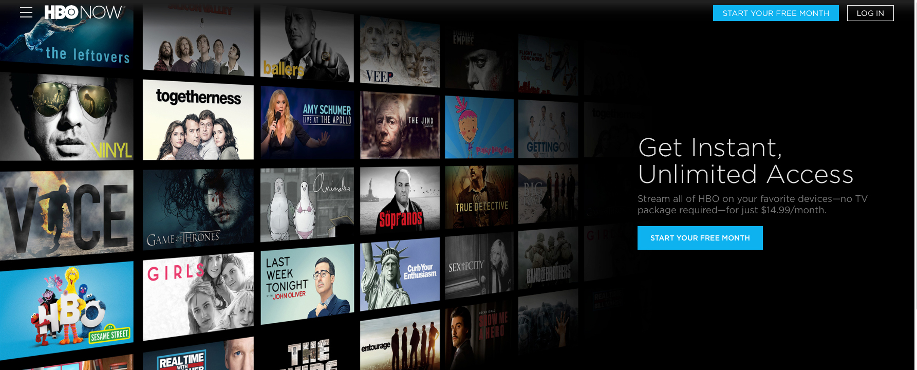 After almost a year, HBO Now has around 800,000 paying subscribers