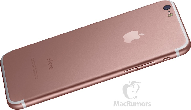 iPhone 7 render MacRumors