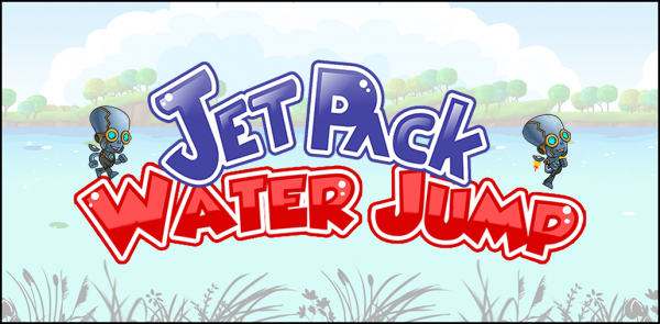 Hop your way to victory in Jetpack Water Jump