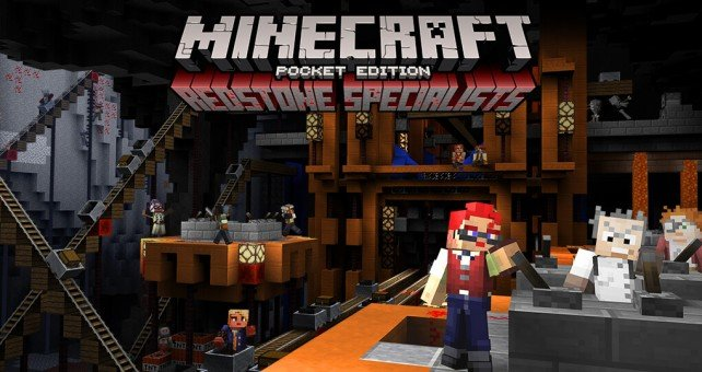 Minecraft: Pocket Edition receives a new update with additional Redstone components