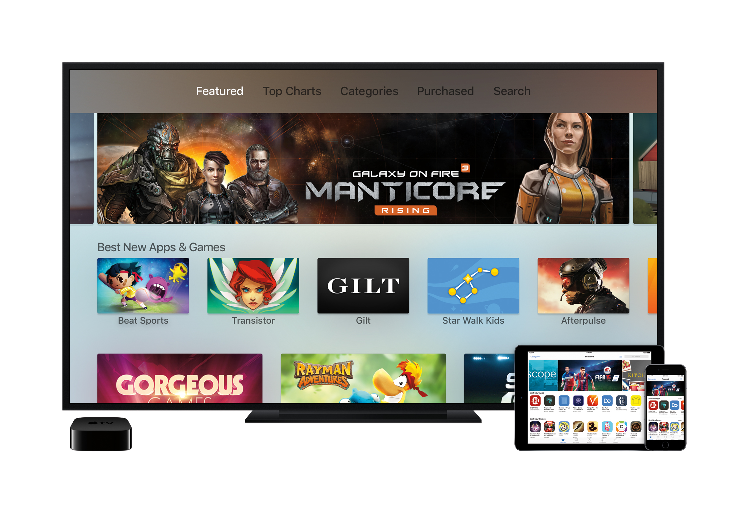 Preview videos are coming to the Apple TV's App Store