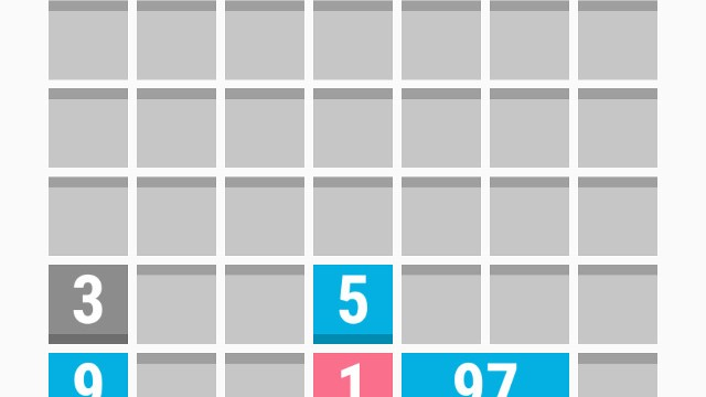 Vertical Divide is a challenging new numerical puzzle game