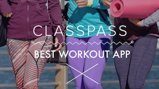 Make working out fun with ClassPass