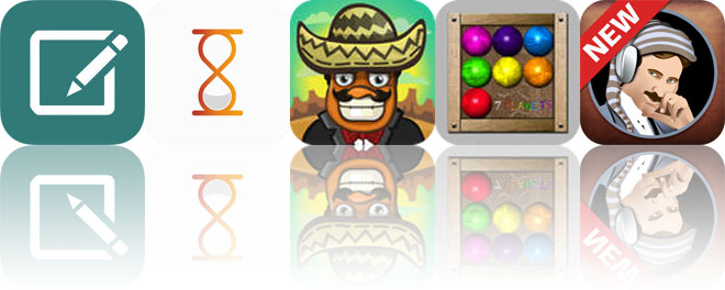 Today's apps gone free: WonderNote, Days Left, Amigo Pancho and more