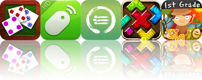 Today's apps gone free: Fast Cards, Remote Mouse, Zentries and more