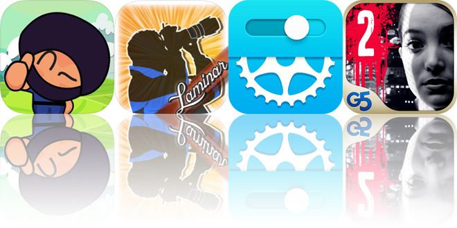 Today's apps gone free: Ninja Boy Adventures, Laminar, Bike Gear Calculator and more