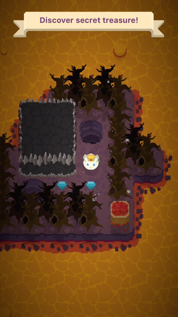 Solve puzzles and rescue cute bunnies in King Rabbit