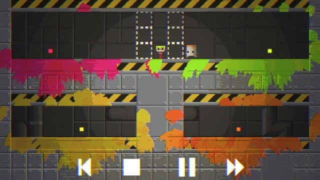 Solve puzzles and make a colorful mess in the charming Telepaint