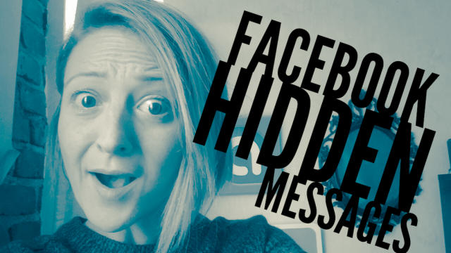 Are you missing Facebook messages? Hidden messages revealed
