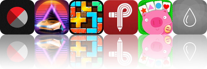 Today's apps gone free: Bitpoem, Neon Drive, Slide Tetromino and more