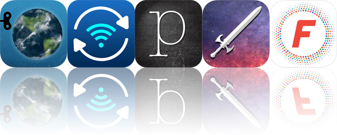 Today's apps gone free: The Earth, Pic Sync, Poetics and more