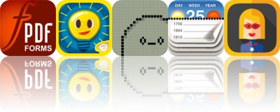 Today's apps gone free: PDF Forms, Piiig Labs, Hatchi and more