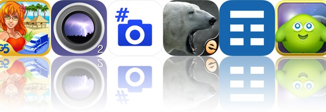 Today's apps gone free: Virtual City 2, iLightningCam 2, Hashpic and more