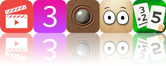 Today's Apps Gone Free: Filmmaker Pro, 3 Minute Mindfulness, Sand Garden and More