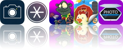 Today's apps gone free: Top Camera 2, Write.r, Zombies Escape and more