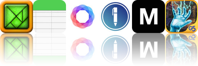 Today's apps gone free: TanZen, Notes.xls, HashPhotos and more