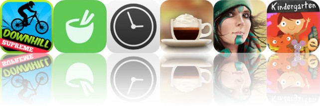 Today's apps gone free: Downhill Supreme, Recipes, Work Time and more