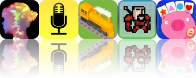 Today's Apps Gone Free: Diana Photo, Audio Notebook, Raildale and More
